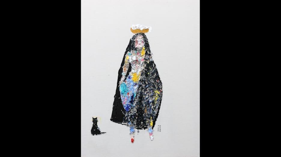 هذا الفنان البحريني يرسم النساء فقط!