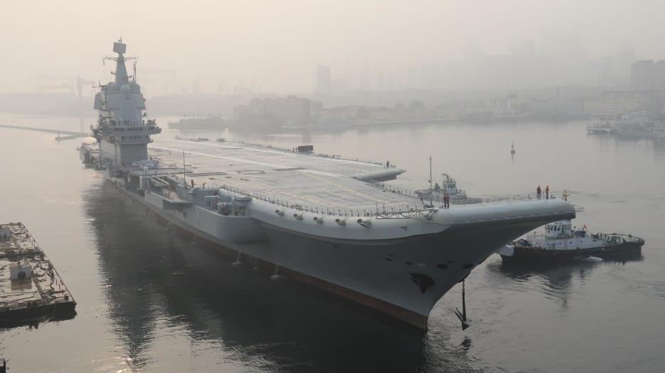خطوة تاريخية.. الصين تبدأ اختبار أول حاملة طائرات محلية الصنع بشكل كامل