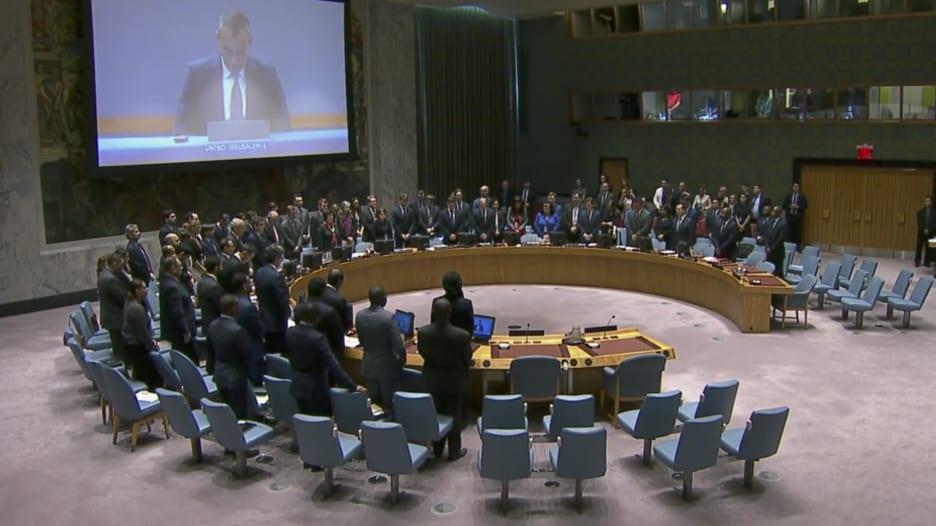 جلسة حول غزة.. أعضاء مجلس الأمن يقفون دقيقة صمت