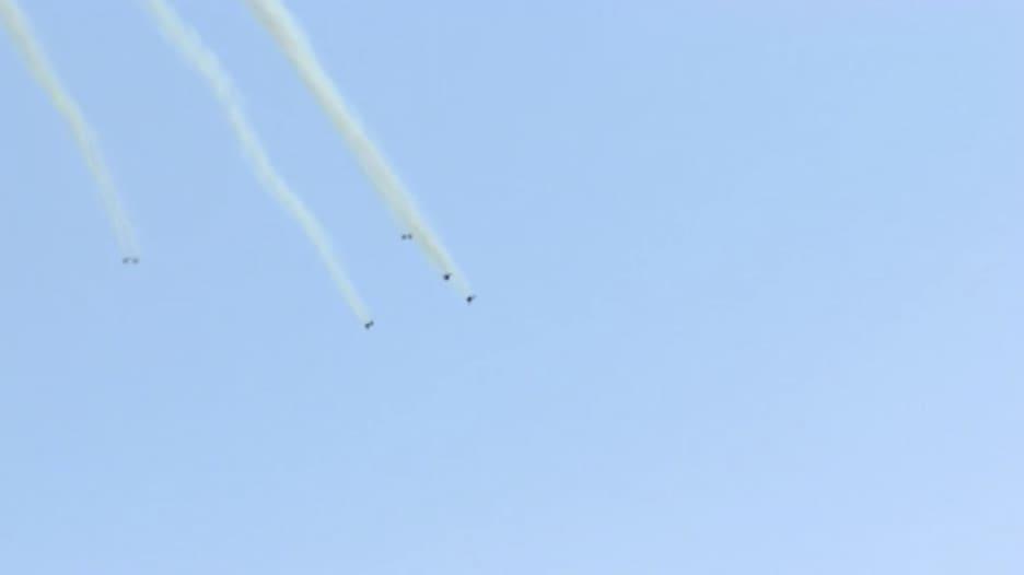 شاهد.. لحظة إسقاط فلسطينيين طائرة إسرائيلية مسيّرة في غزة