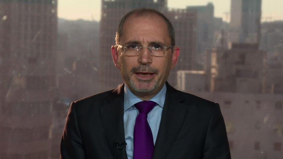 أيمن الصفدي لـCNN: معاناة الأردن الاقتصادية سببها أزمات المنطقة