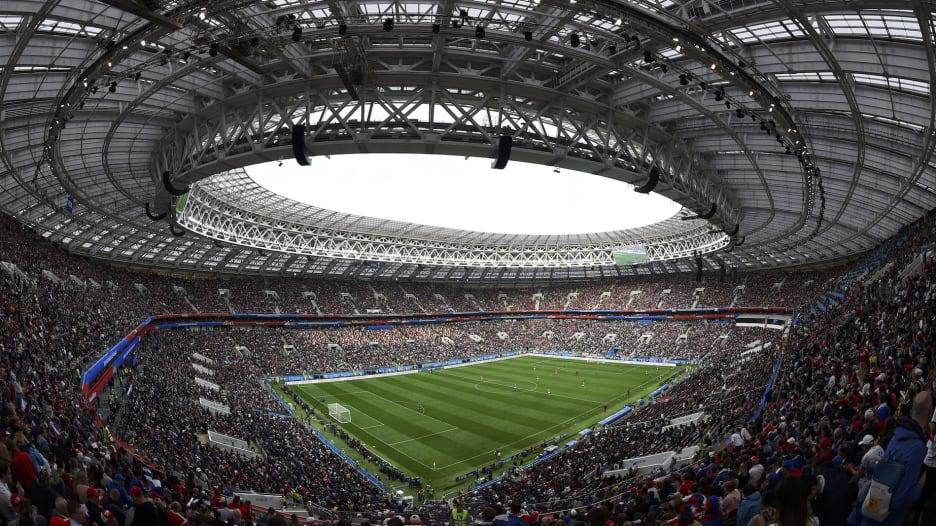 مشاهد من حفل افتتاح كأس العالم 2018 في روسيا