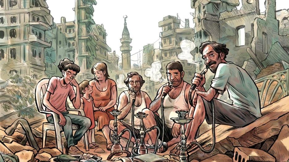 """حرب تموز وثورة 25 يناير.. بقصص """"الكوميكس"""" المصورة"""