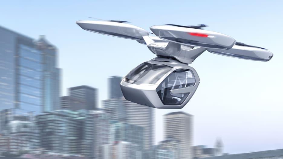 سيارات الخيال العلمي الطائرة ستصبح حقيقة.. وتنطلق من دبي