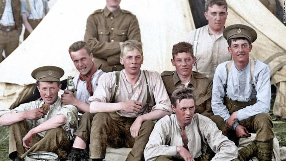 بهذه الصور الملونة للحرب العالمية الأولى.. تعود القصص إلى ال
