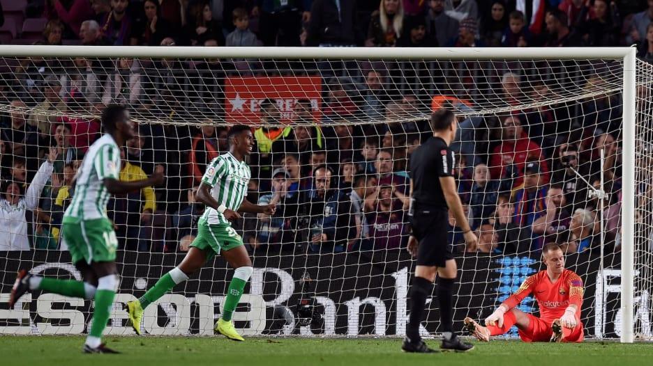 بعد الهزيمة بيتيس.. هذه آخر هزائم برشلونة على أرضه