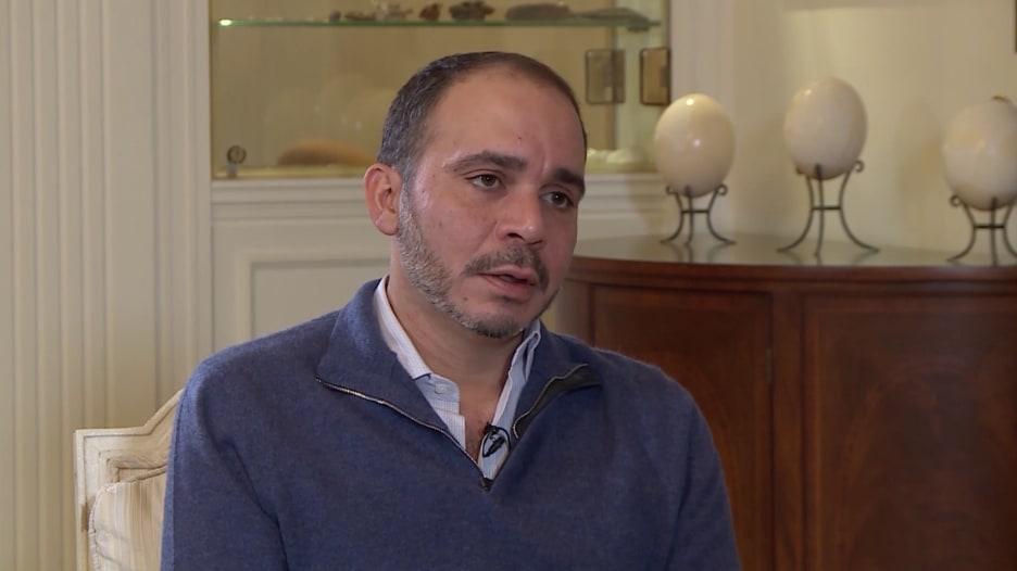 رئيس الإتحاد الأردني لكرة القدم واتحاد غرب آسيا، الأمير علي