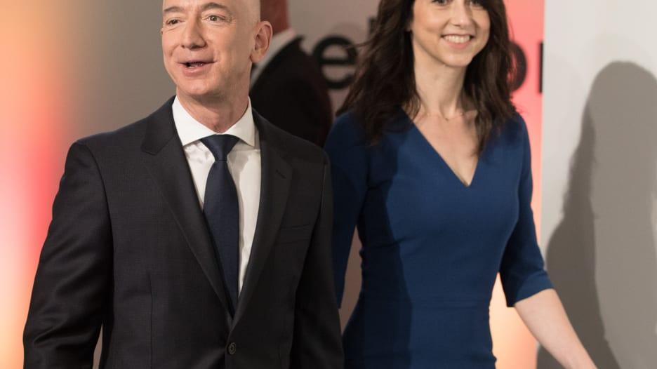 طلاق جيف بيزوس وزوجته..كيف يعيد ترتيب أثرياء العالم؟