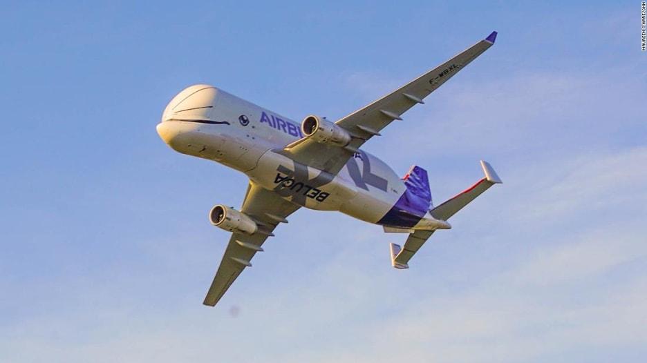 طائرة بيلوغا XL الضخمة من شركة إيرباص..تحلق قريباً في السماء
