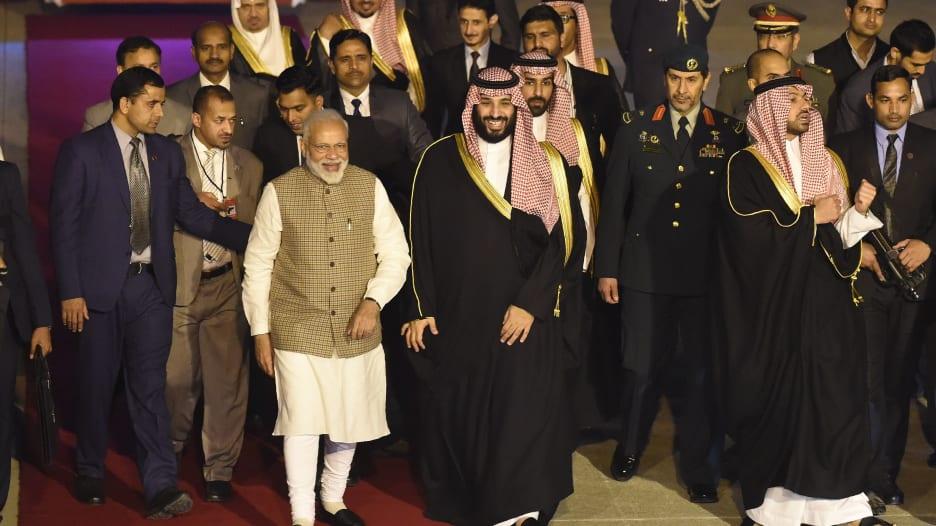 مع زيارة ولي العهد.. أبرز ملامح التعاون التجاري بين السعودية والهند