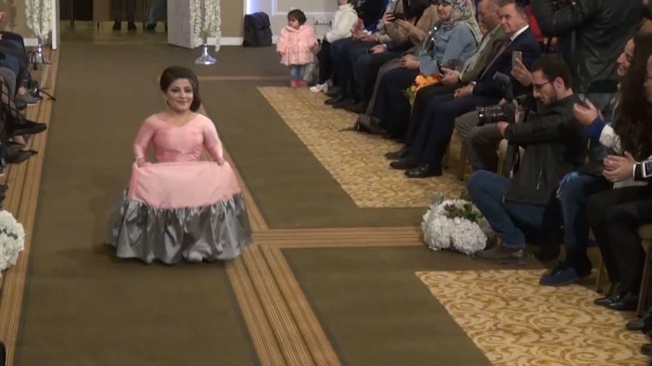 أول عرض أزياء لذوي الاحتياجات الخاصة بإقليم كردستان