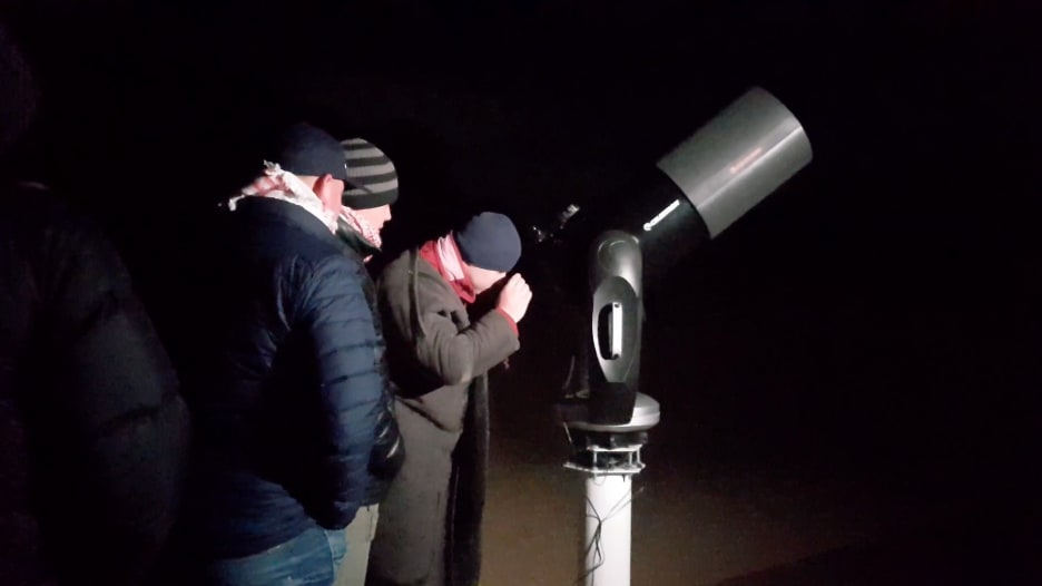 مشروع أردني لهواة الرصد الفلكي والتخييم في الصحراء