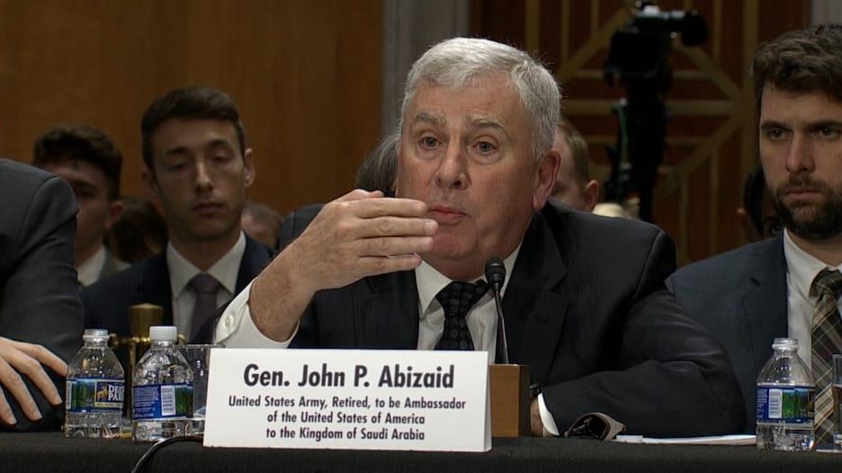 """جون أبي زيد: مستعد لخوض """"مناقشات قوية"""" مع السعودية"""