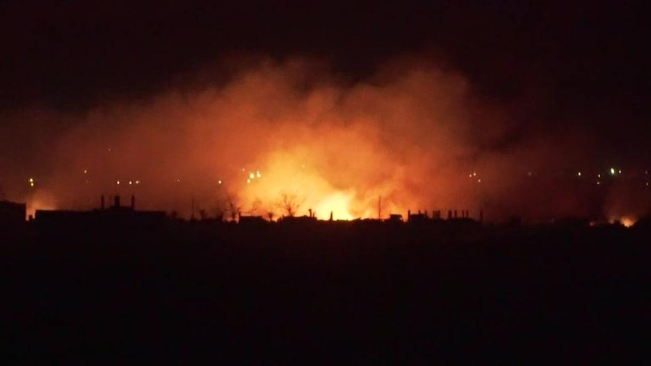 كاميرا CNN داخل مخيم داعش الأخير.. نهاية قريبة بعيدة