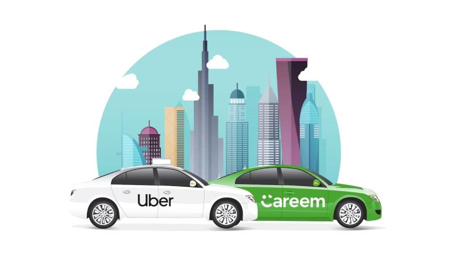 صفقة أوبر وكريم.. دبي تذهب لأبعد من التجارة والسياحة
