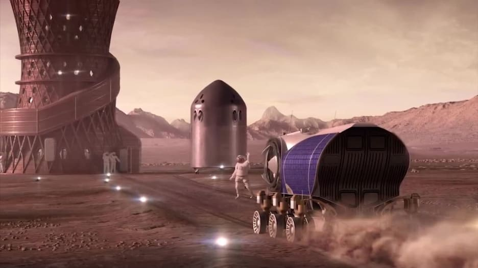 وكالة ناسا تكشف عن 3 تصاميم لمنازل على كوكب المريخ