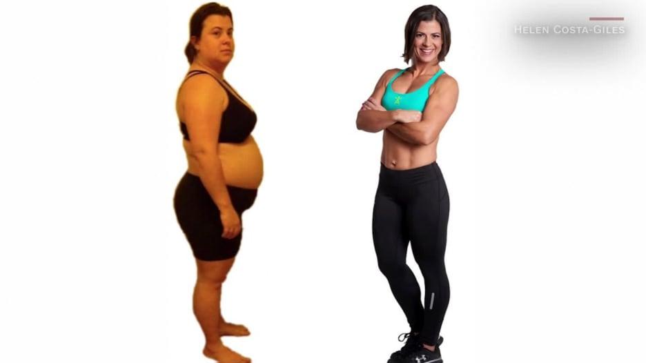 من السمنة للرشاقة.. شاهد كيف خسرت سيدة وزنها وقلبت حياتها