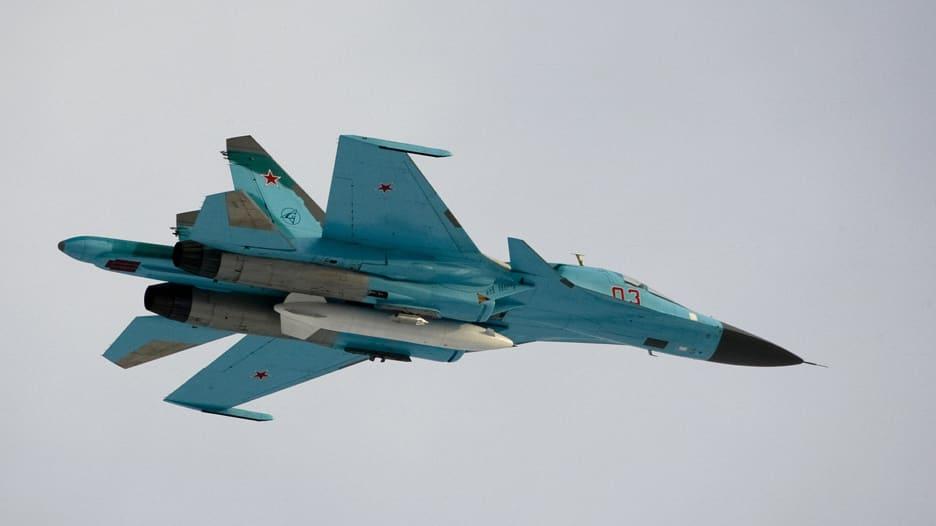 """تعرف على قدرات المقاتلة الروسية """"SU-34"""""""