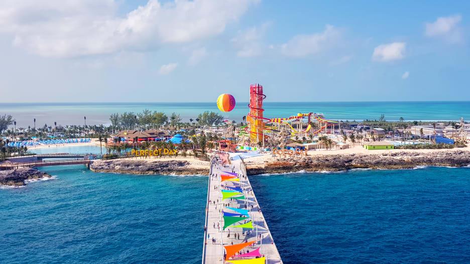 رحلة بحرية تفتتح جزيرة خاصة بقيمة 250 مليون دولار
