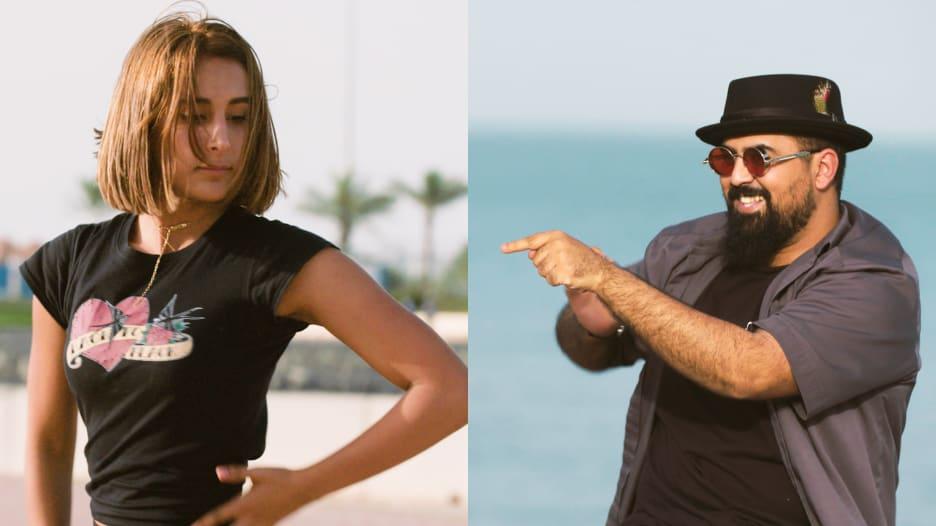 سارة الحمود ومحمد العيداني