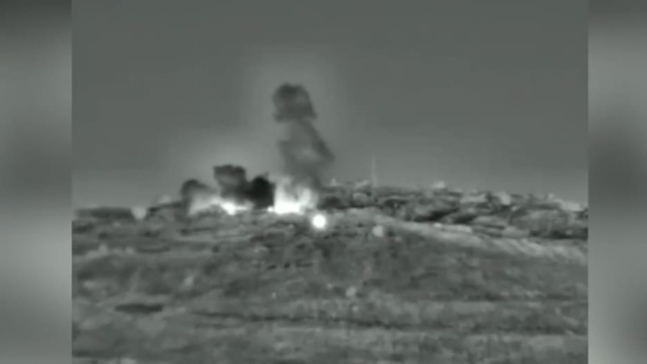 إسرائيل تضرب أهدافاً عسكرية سورية رداً على إطلاق الصواريخ
