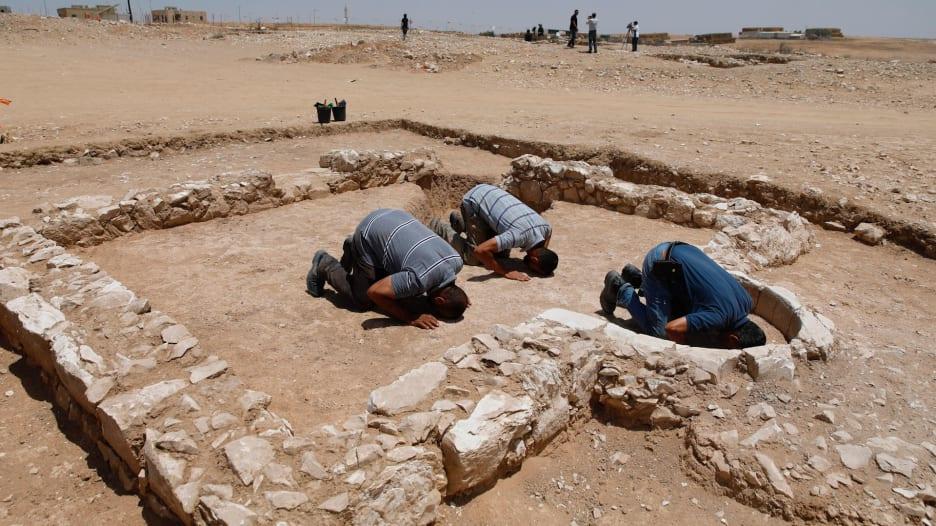 اكتشاف مسجد عمره 1300 عام في إسرائيل