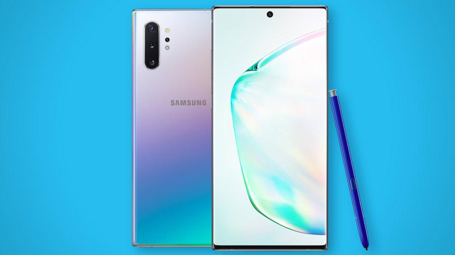 تعرف على المواصفات الجديدة لـ Samsung Galaxy Note10