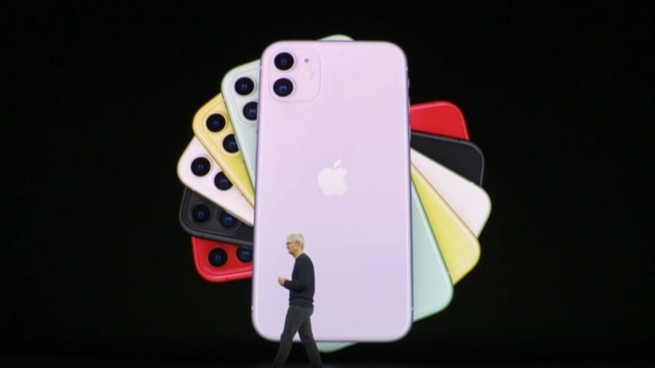 """شاهد.. آبل تكشف عن هاتفها الجديد """"آيفون 11"""""""