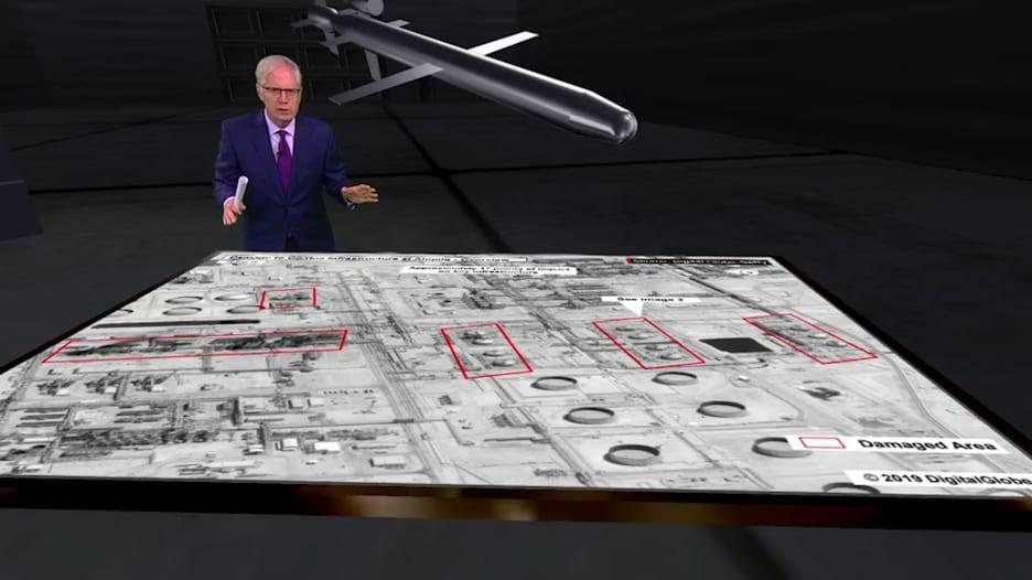 بالفيديوغراف.. موقع انطلاق الهجوم على أرامكو وفقا لمحللين