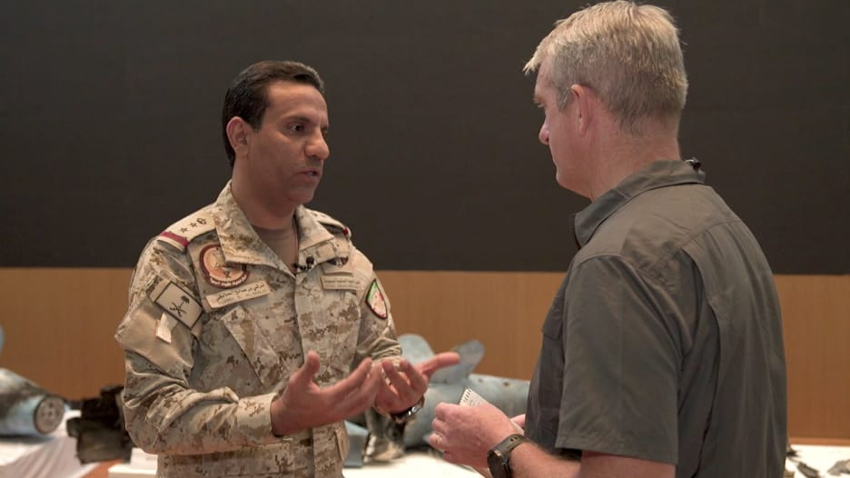 المالكي يوضح لـCNN استنتاج انطلاق الدرون ضد أرامكو من الشمال