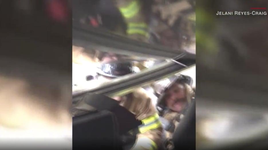 بكاميرا هاتفه.. رجل يوثق صراعه مع الموت تحت شاحنة