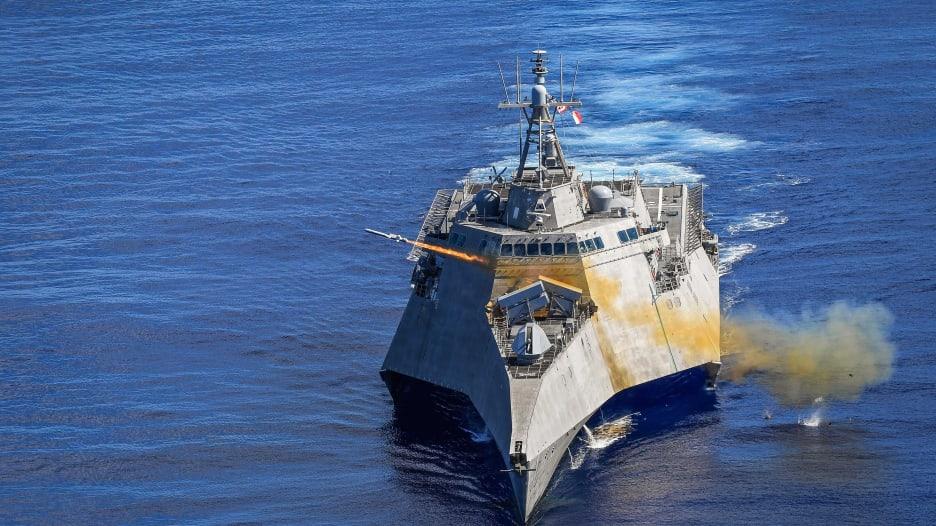 أمريكا ترد على الصين وتختبر في البحر صاروخا يصعب اعتراضه