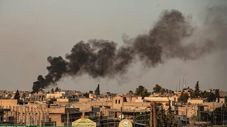 لحظة انطلاق هجوم الجيش التركي على شمال شرق سوريا
