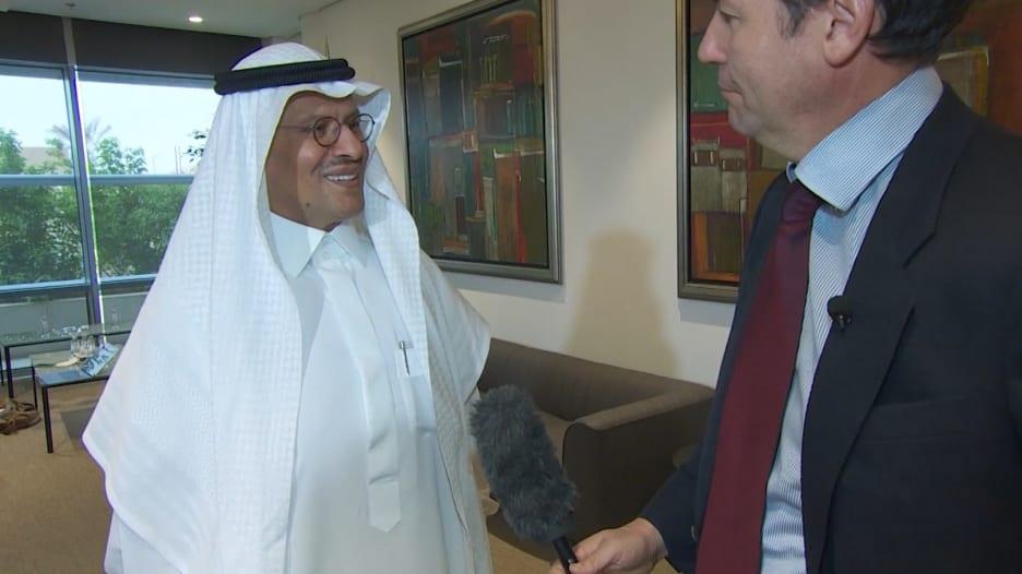 """وزير الطاقة السعودي حول البحث عن شركاء مختلفين: """"أخذ الحيطة ليس فكرة سيئة"""""""