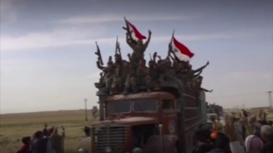 مسلحون مدعومون من تركيا يهددون قوات أمريكية شمال سوريا