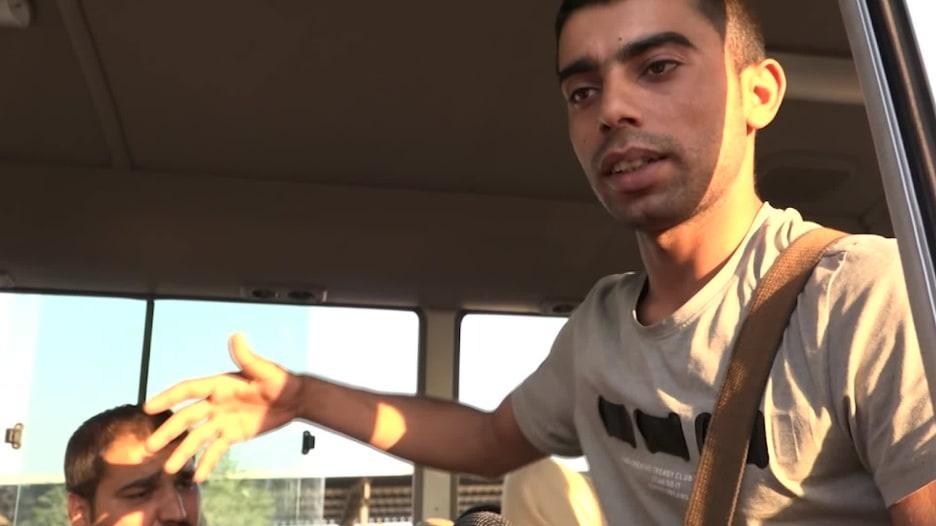 """""""بينامو تحت القصف"""".. هذا ما قاله فارّون من سوريا إلى العراق"""