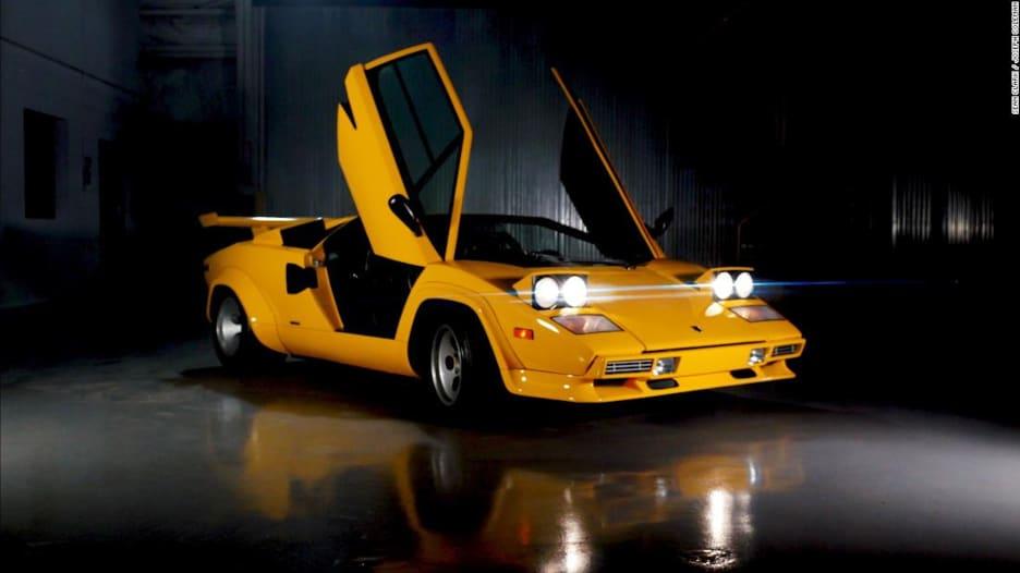 كيف أصبحت هذه اللامبورغيني سيارة الأحلام في الثمانينات؟