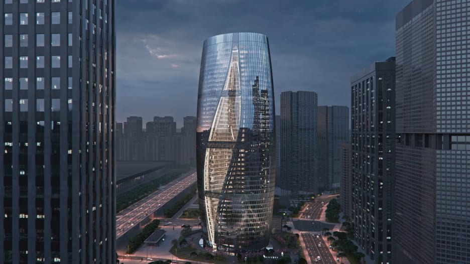 """من تصميم شركة زها حديد.. هذا هو أطول مبنى """"أتريوم"""" في العالم"""