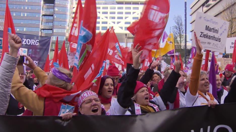 إضراب 119 مؤسسة صحية في هولندا.. وإلغاء عمليات طبية ومواعيد