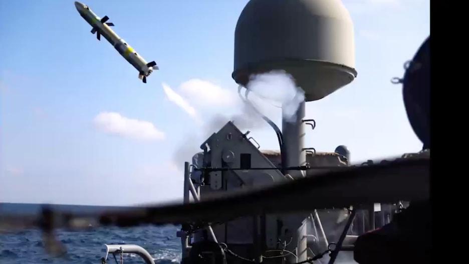 """بعد اختبارها في الخليج.. تعرف على صواريخ """"غريفين"""" الأمريكية"""