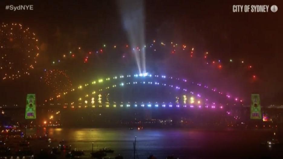 أستراليا ونيوزيلندا تدخلان 2020 بعروض ضخمة للألعاب النارية