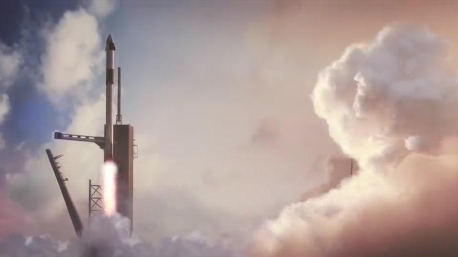 هذه المركبة ستنقل البشر من والى الفضاء قريباً