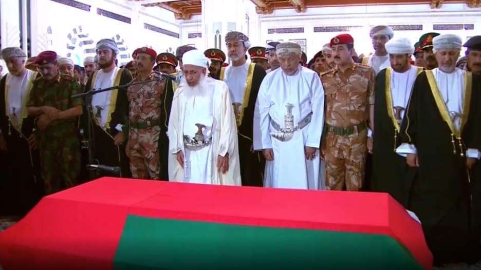 مشاهد من مراسم تشييع السلطان قابوس
