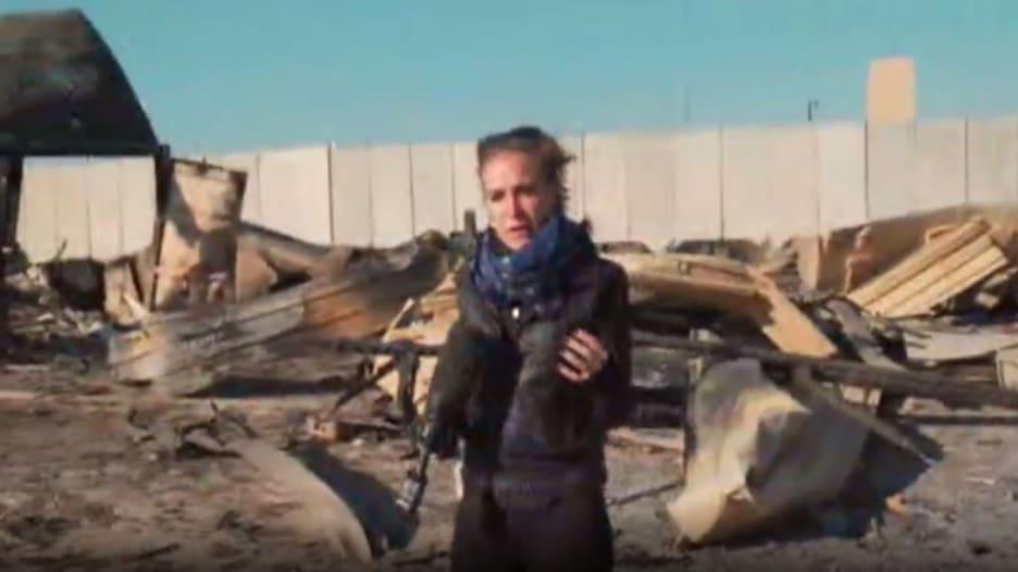 حصريا CNN بقاعدة عين الأسد الجوية.. هذا ما خلفته ضربات إيران