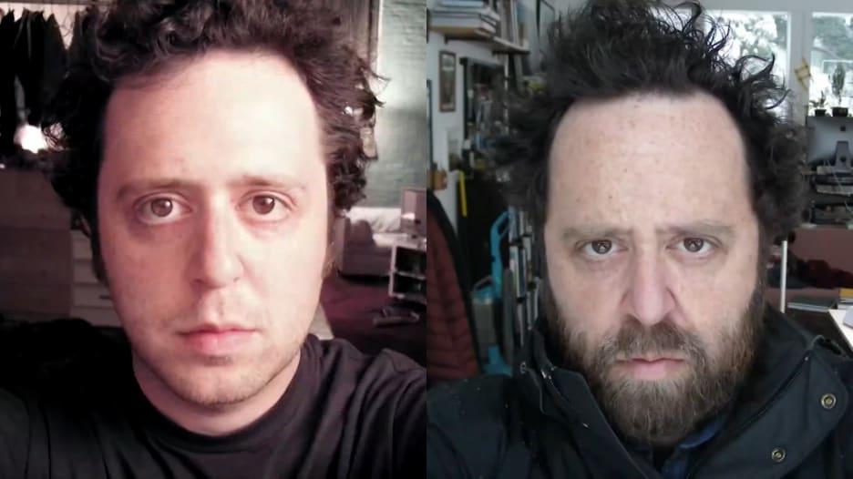 """مصور يلتقط """"سيلفي"""" يومياً لمدة 20 عاماً.. شاهد النتيجة"""