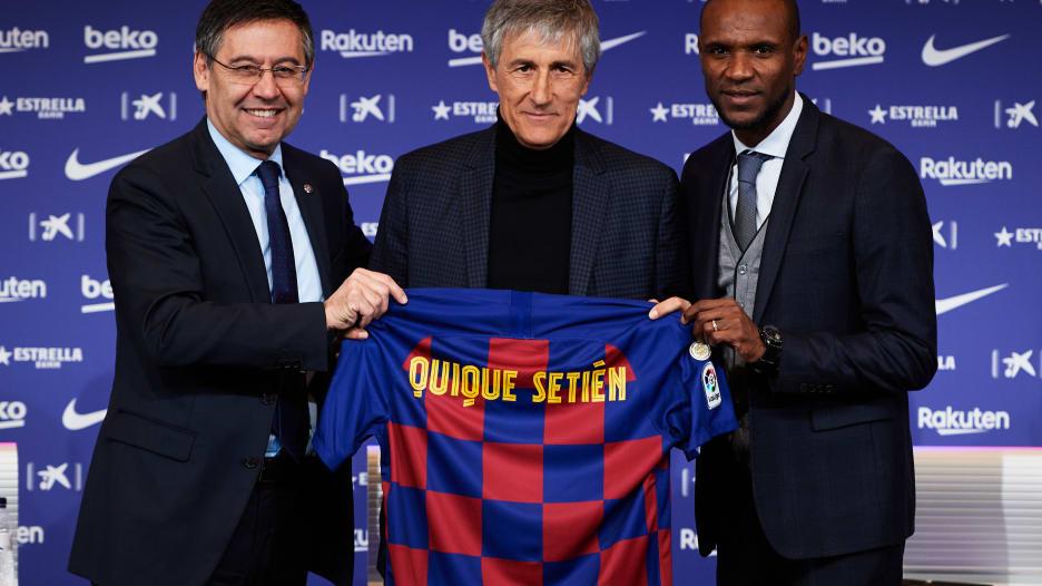 لماذا اختار برشلونة كيكي سيتين مدربا للفريق؟