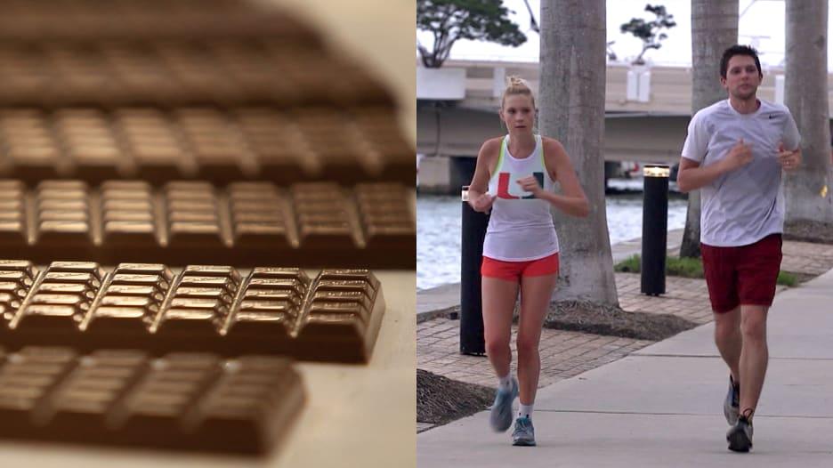 قطعة شوكولاتة تساوي الجري لـ23 دقيقة.. هكذا تقلل عدد السعرات
