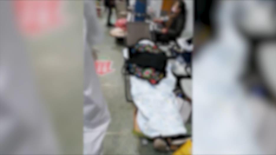 جثث مستشفى في ووهان