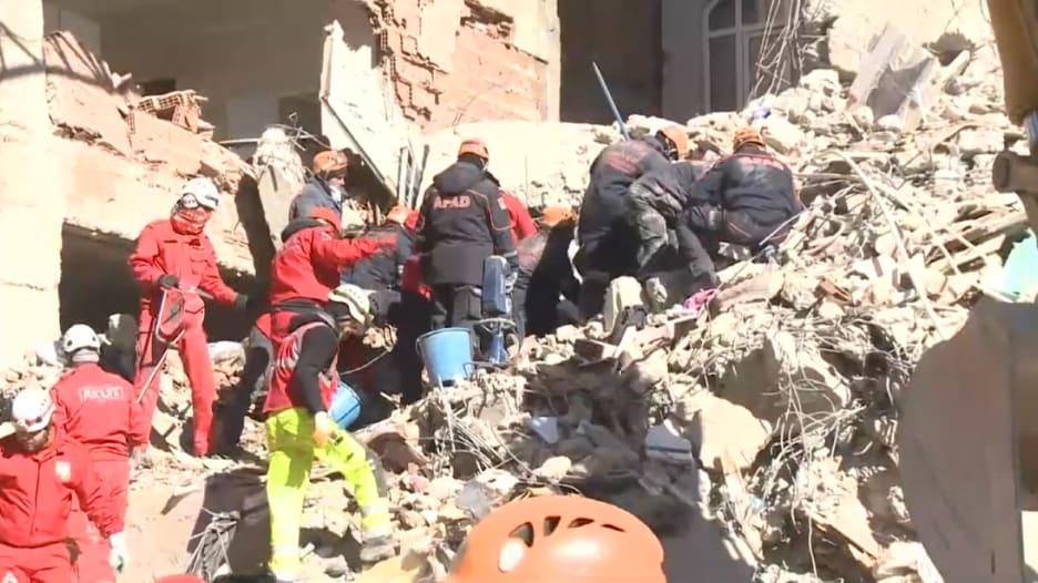 شاهد الدمار الذي خلفه زلزال تركيا