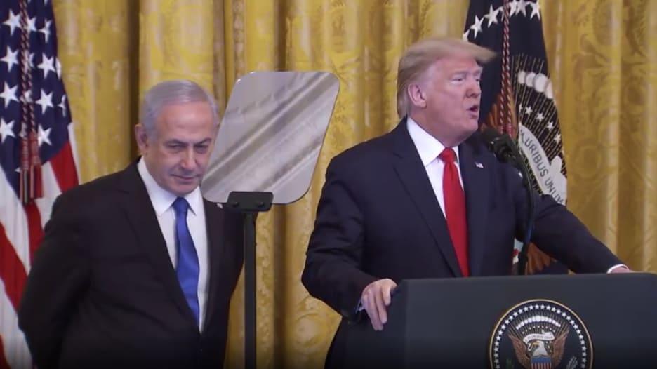 ترامب: إسرائيل اليوم تتخذ خطوة كبيرة نحو السلام